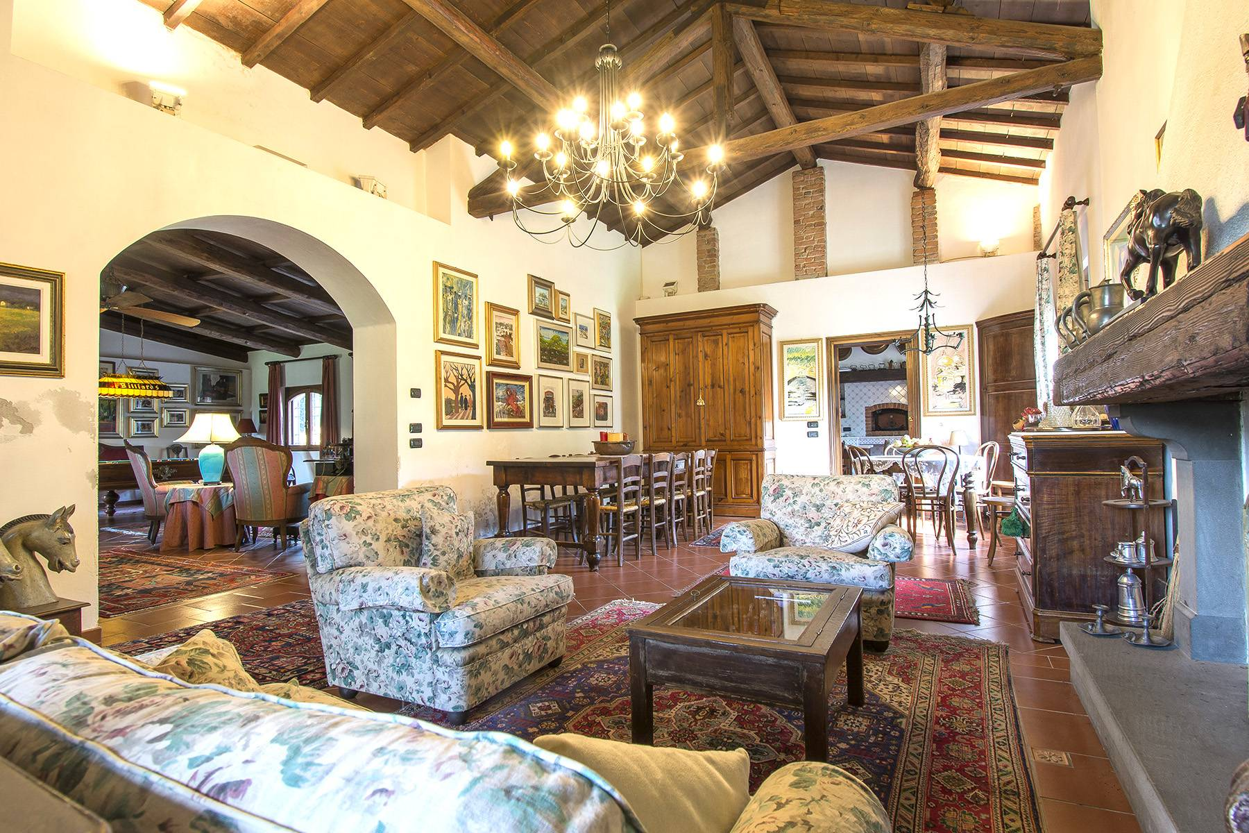Equestrian farmhouse in the Tuscan countryside - 9