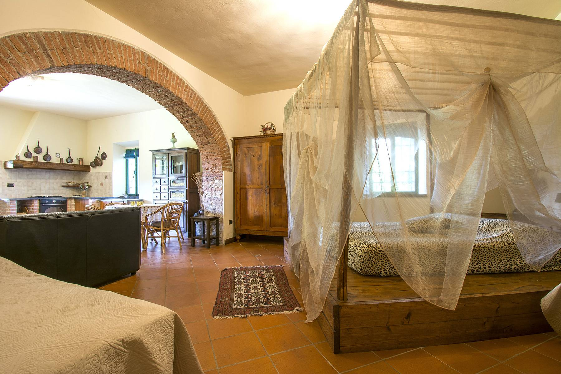 Bauernhaus mit Reitschule auf dem toskanischen Landschaft - 12