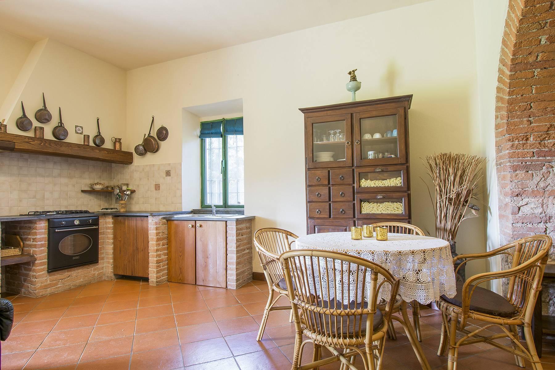 Bauernhaus mit Reitschule auf dem toskanischen Landschaft - 17