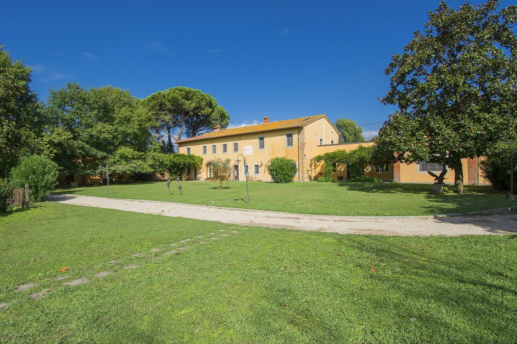 Bauernhaus mit Reitschule auf dem toskanischen Landschaft - 20