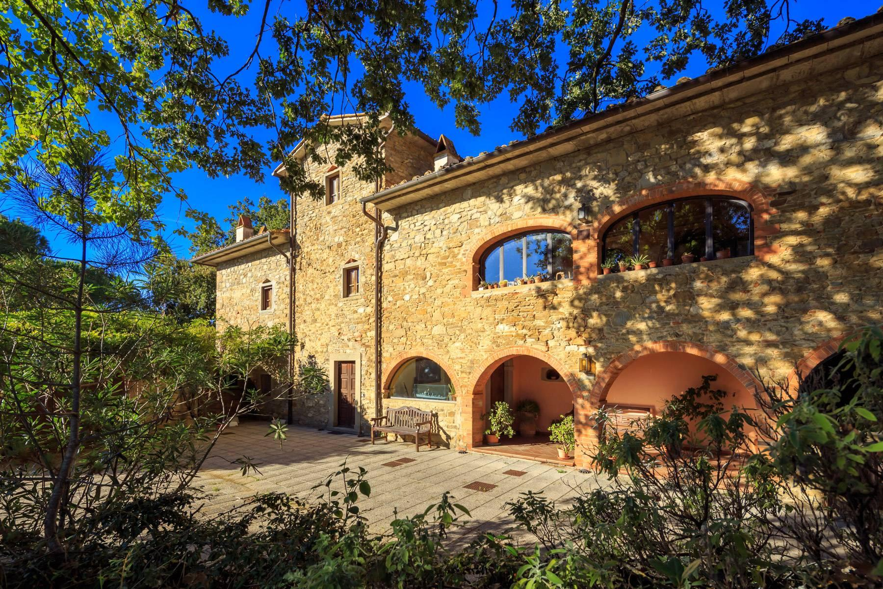 Historische Villa in der toskanischen Landschaft - 6