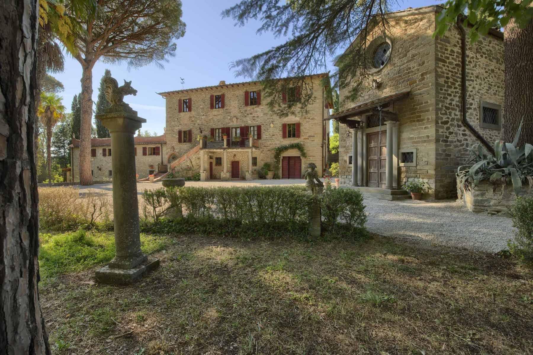 Historische Villa aus dem 1700 in Cortona - 3