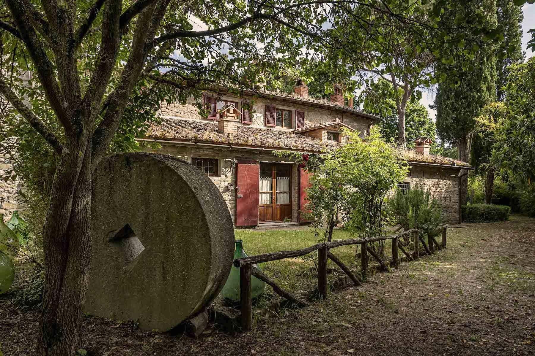 Historische Villa aus dem 1700 in Cortona - 8
