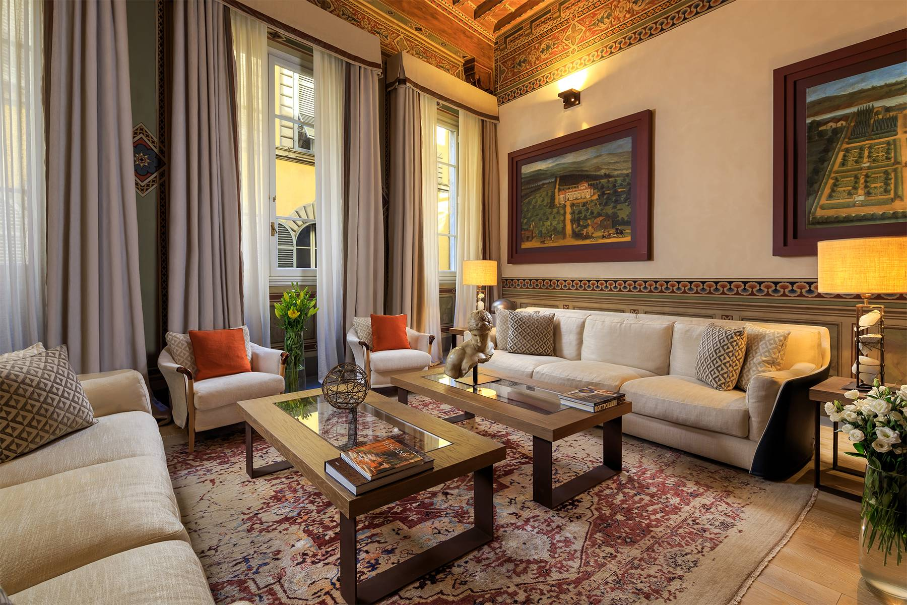 Moderne Wohnung im historischen Palast - 1