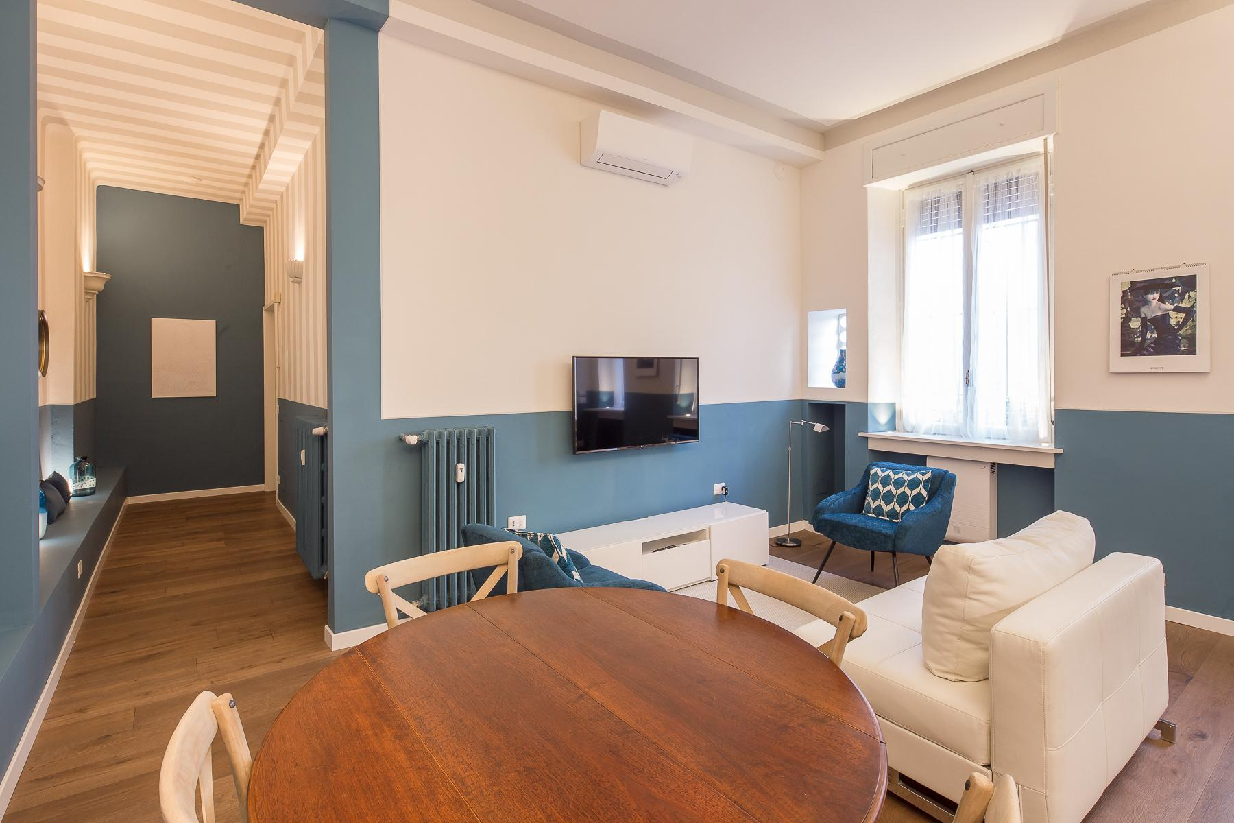 Beautiful new furnished two-room apartment in Corso Magenta - 3