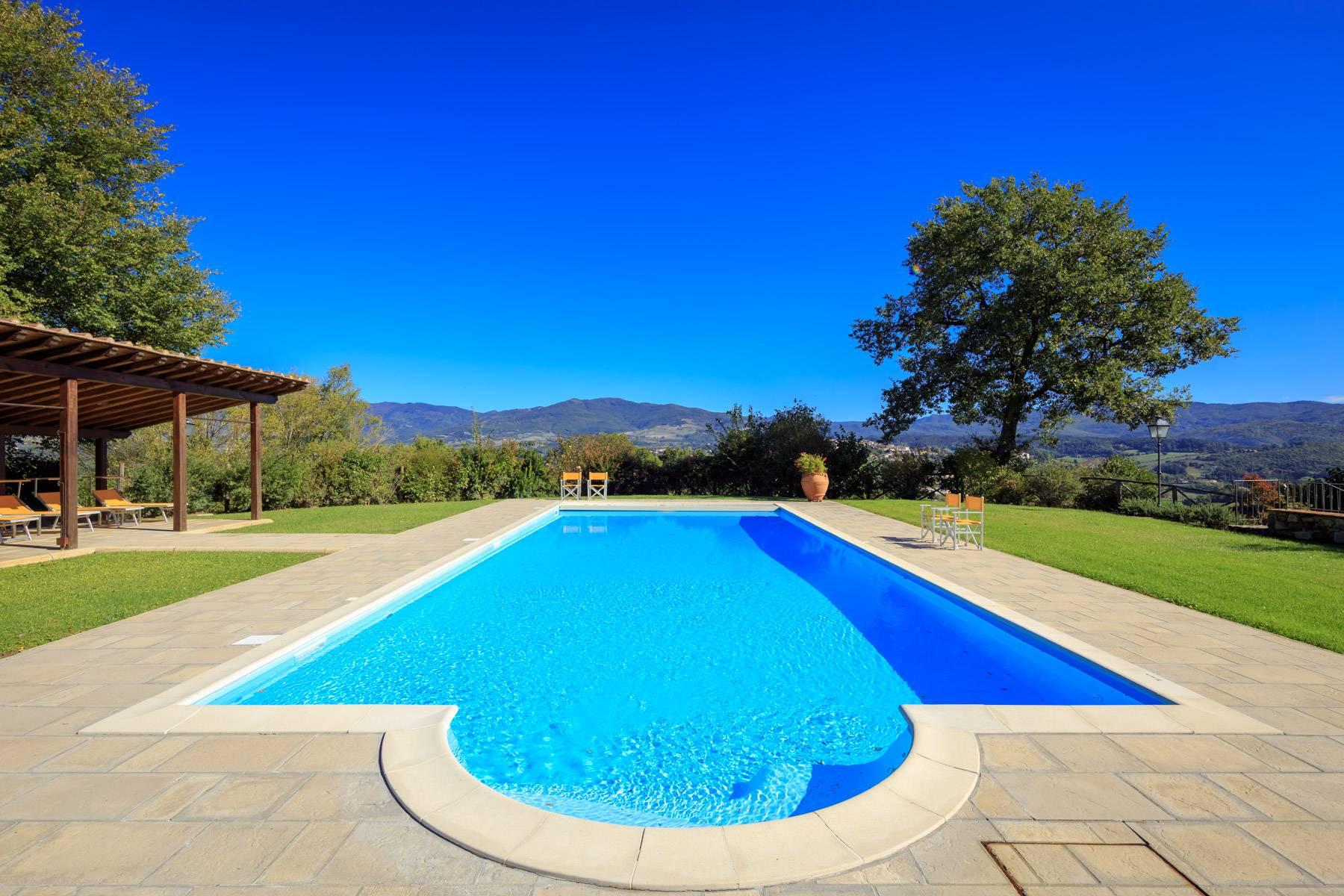 Marvelous estate with views over the Casentino valley - 29
