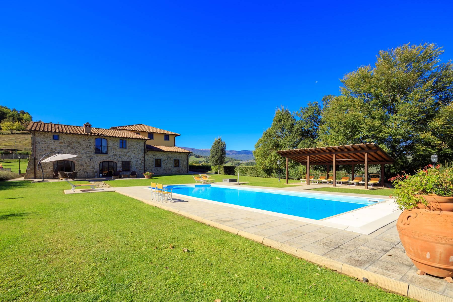 Marvelous estate with views over the Casentino valley - 4