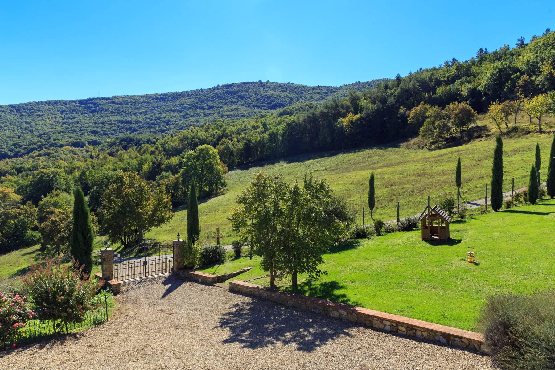Marvelous estate with views over the Casentino valley - 35
