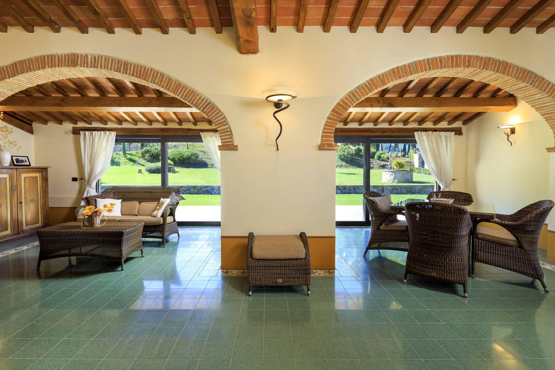 Marvelous estate with views over the Casentino valley - 17