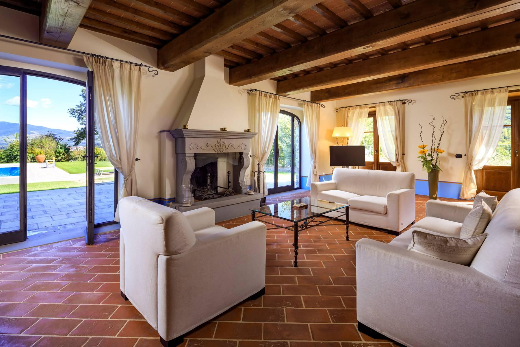 Marvelous estate with views over the Casentino valley - 7