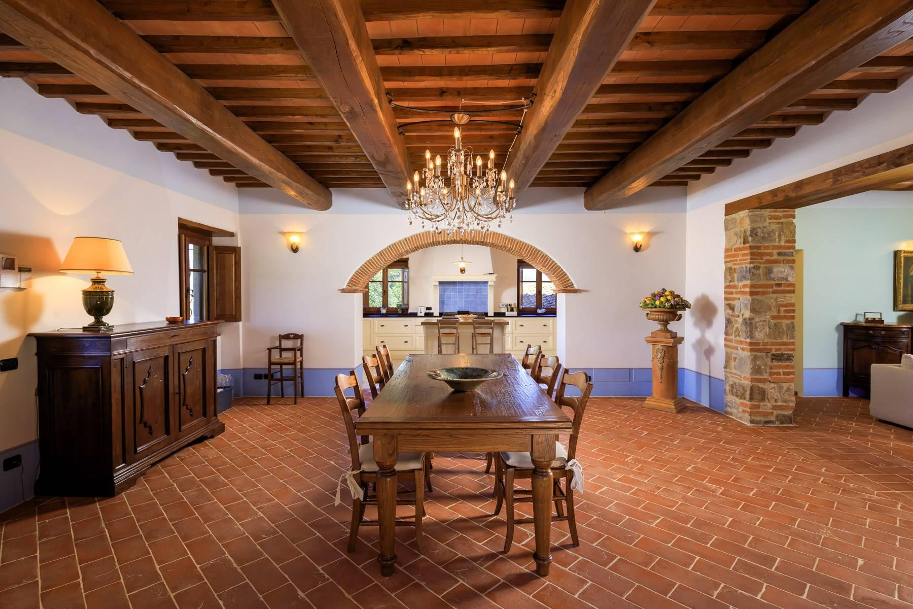 Marvelous estate with views over the Casentino valley - 9