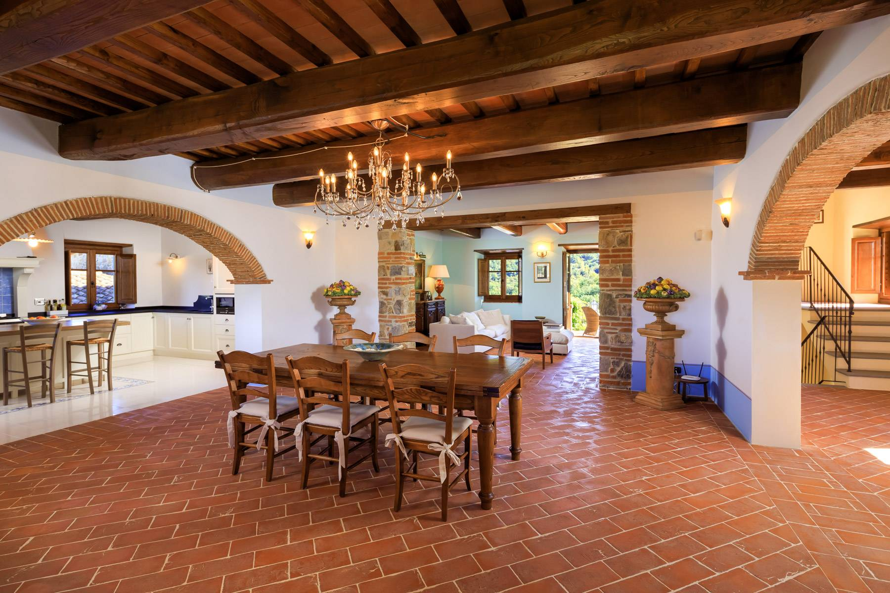 Marvelous estate with views over the Casentino valley - 22