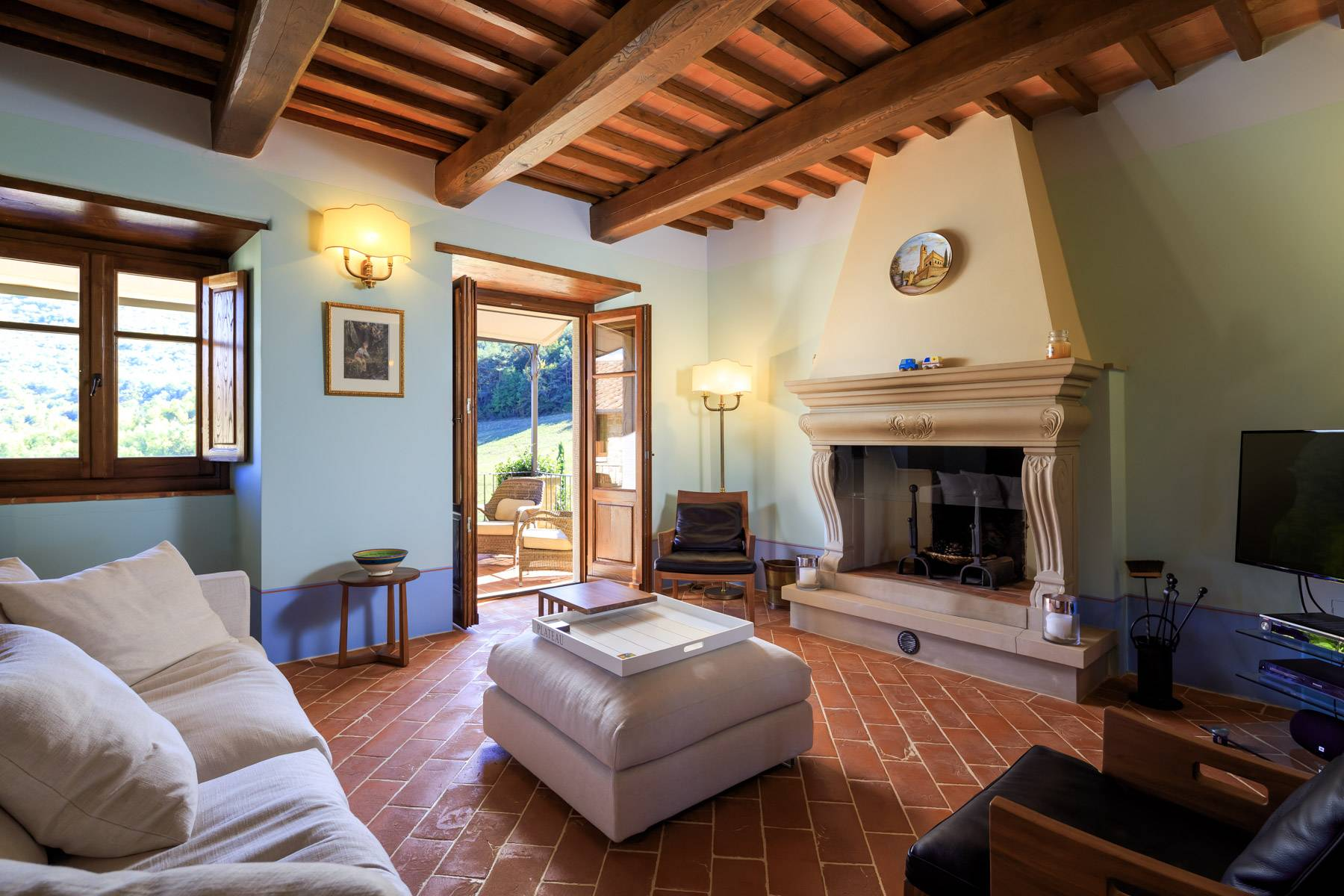 Marvelous estate with views over the Casentino valley - 23