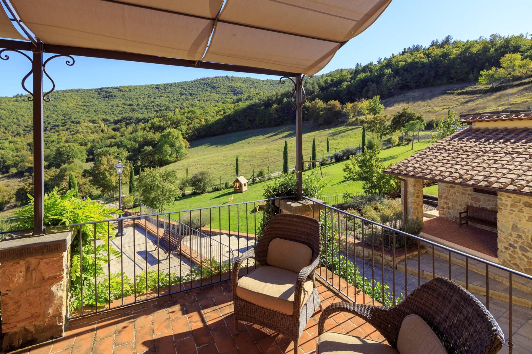Marvelous estate with views over the Casentino valley - 33
