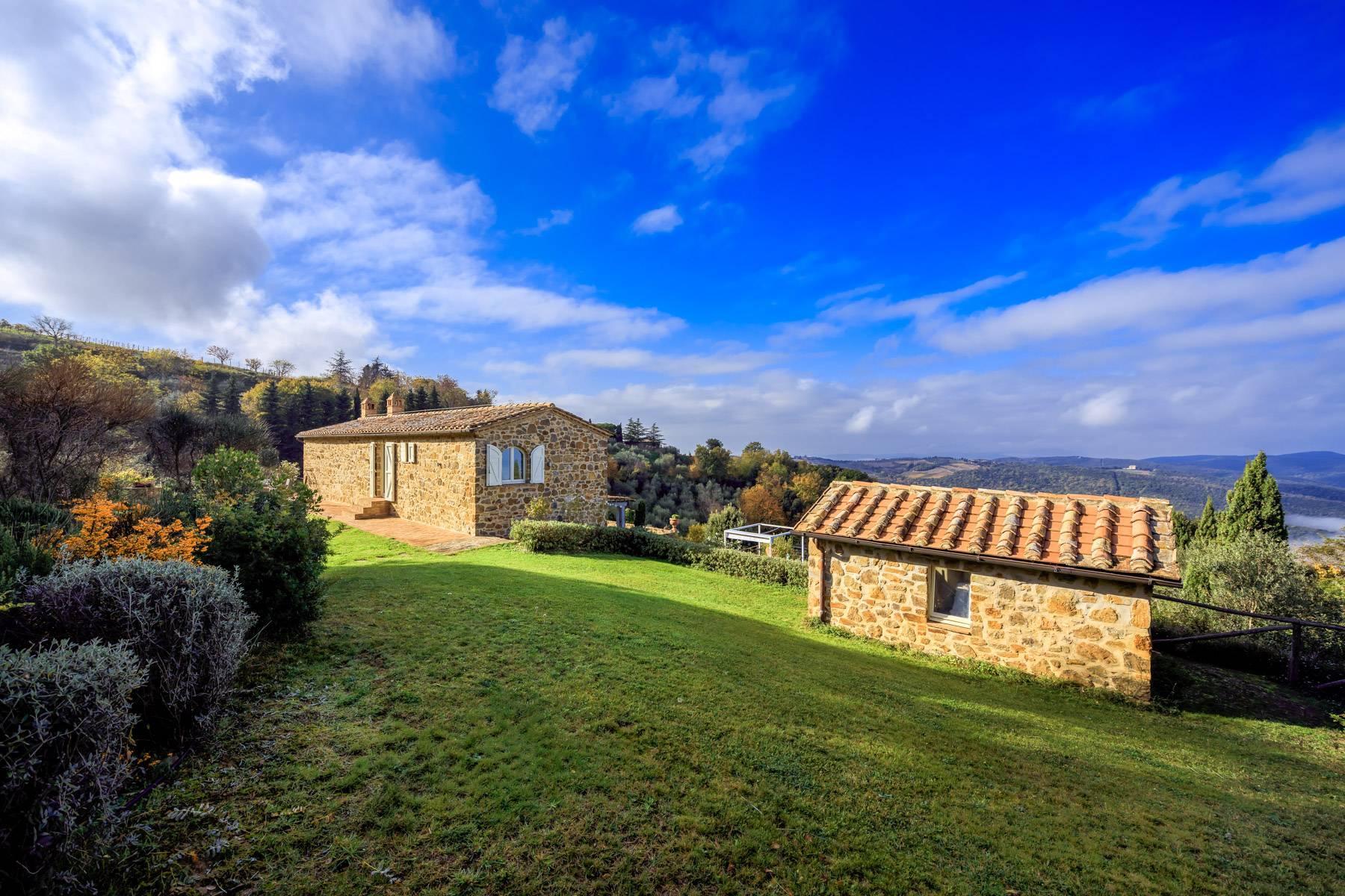 Wunderschönes restauriertes Bauernhaus in der Nähe von Montalcino - 5