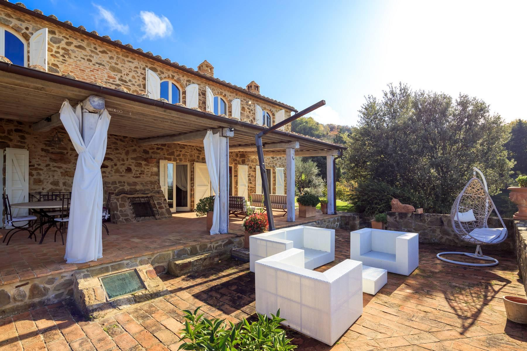 Marvelous newly restored farmhouse close to Montalcino - 22