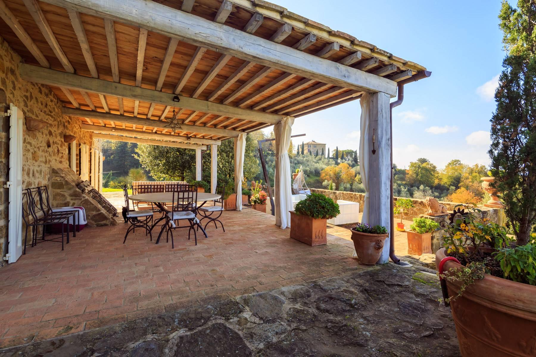 Marvelous newly restored farmhouse close to Montalcino - 23