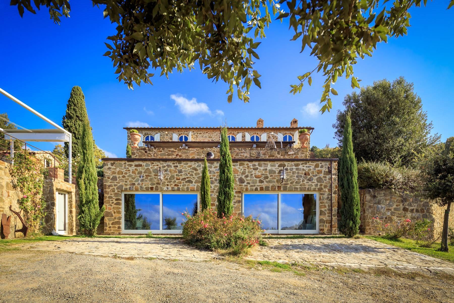 Wunderschönes restauriertes Bauernhaus in der Nähe von Montalcino - 2