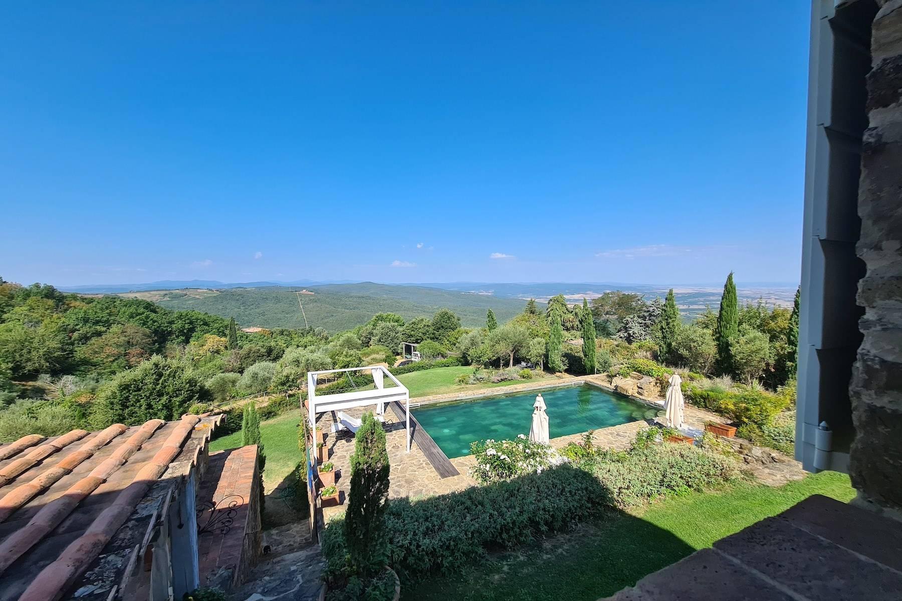 Wunderschönes restauriertes Bauernhaus in der Nähe von Montalcino - 6