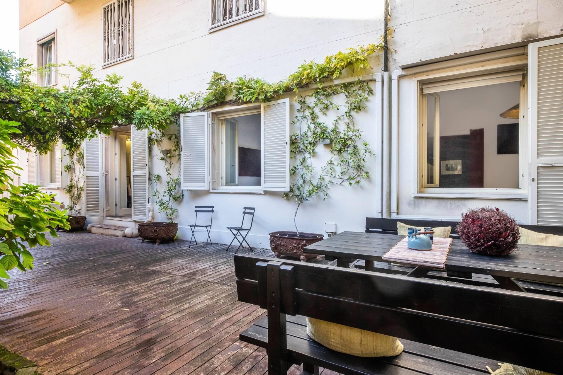 Appartamento all'Aventino con incantevole giardino privato - 1