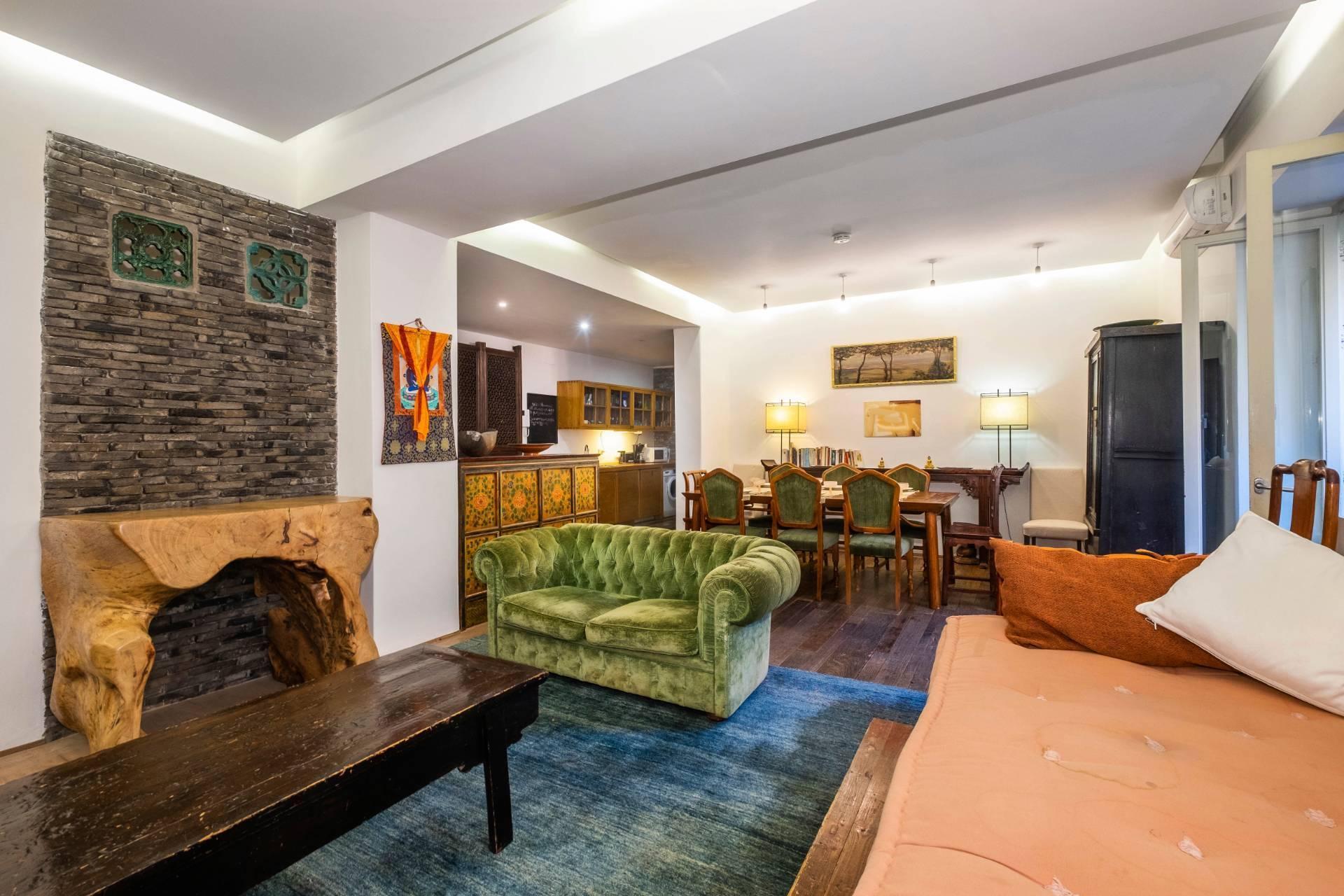 Appartamento all'Aventino con incantevole giardino privato - 5