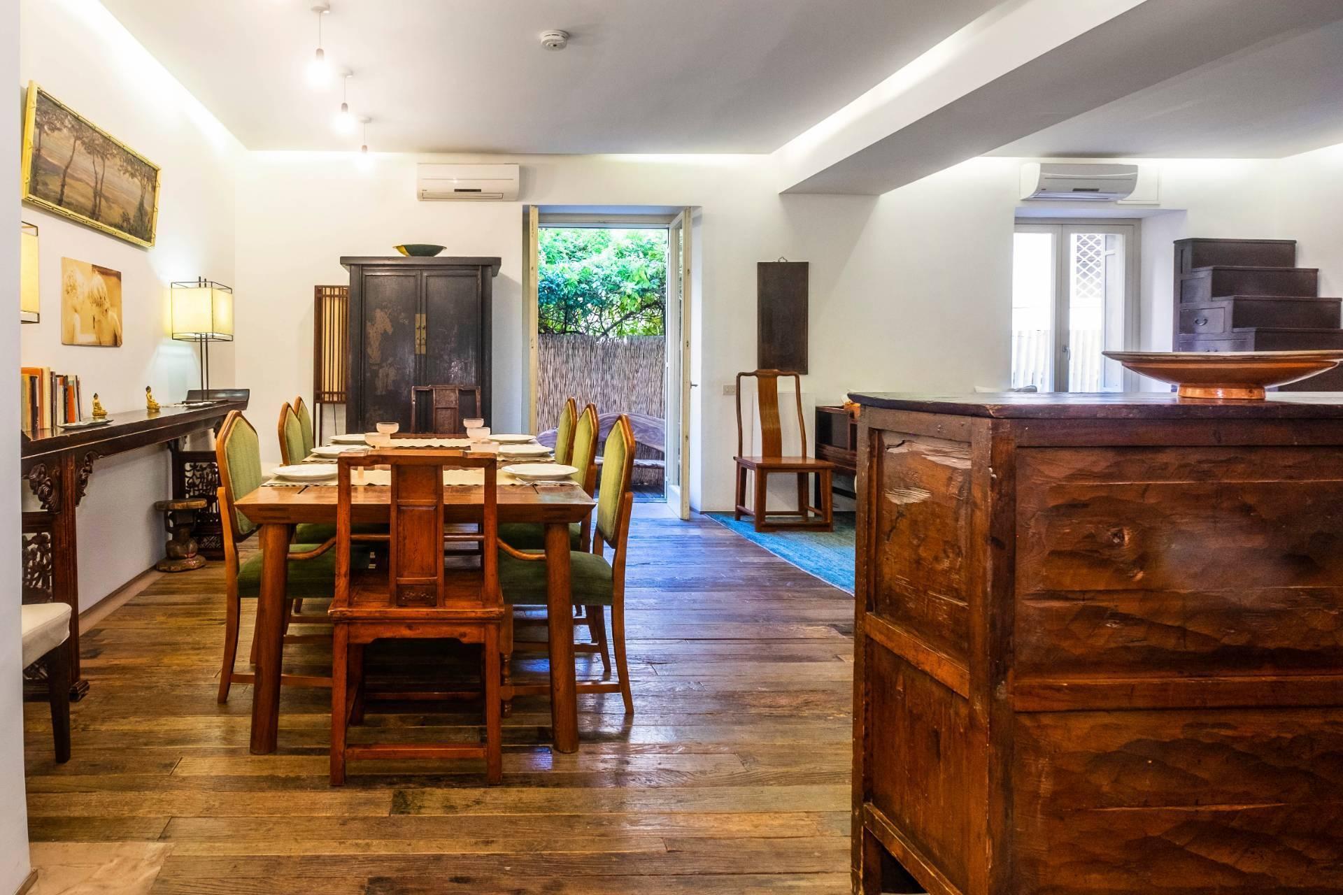 Appartamento all'Aventino con incantevole giardino privato - 7