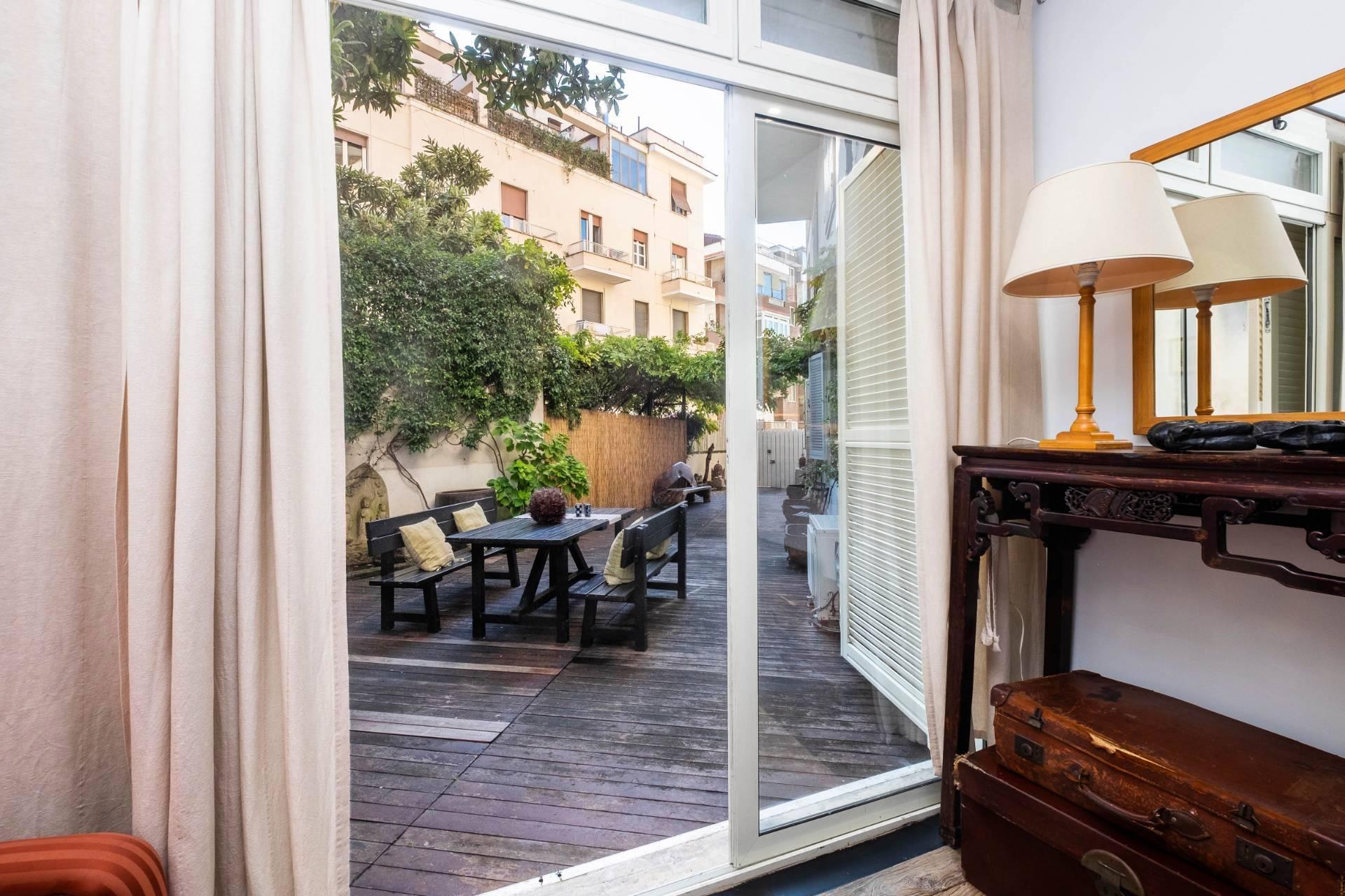 Appartamento all'Aventino con incantevole giardino privato - 16