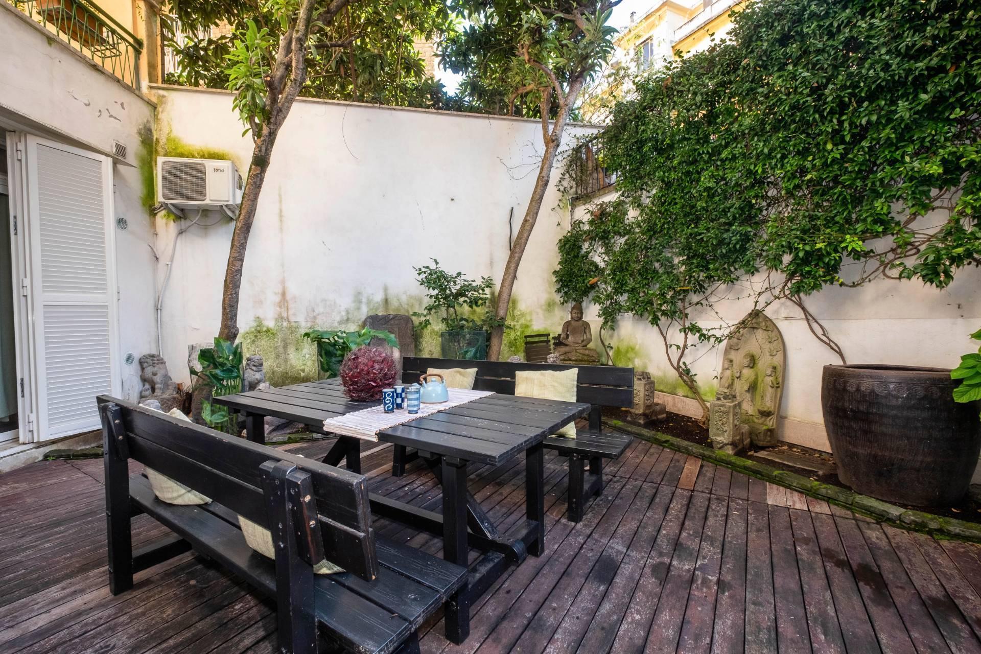 Appartamento all'Aventino con incantevole giardino privato - 28