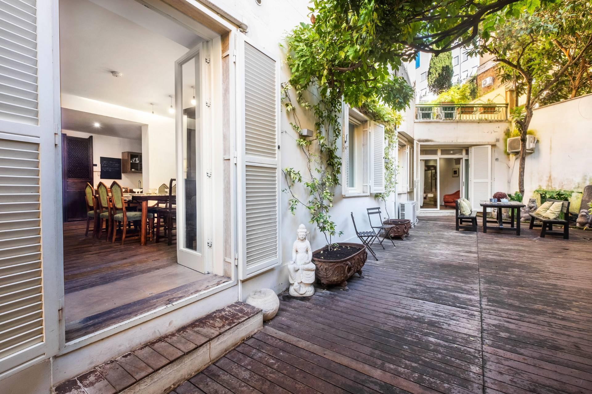 Appartamento all'Aventino con incantevole giardino privato - 26