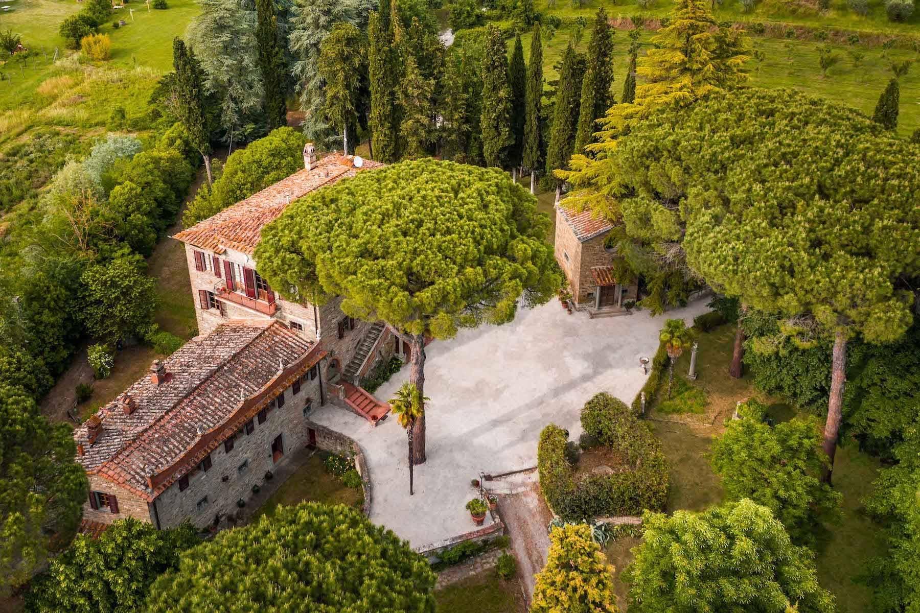 Historische Villa aus dem 1700 in Cortona - 2