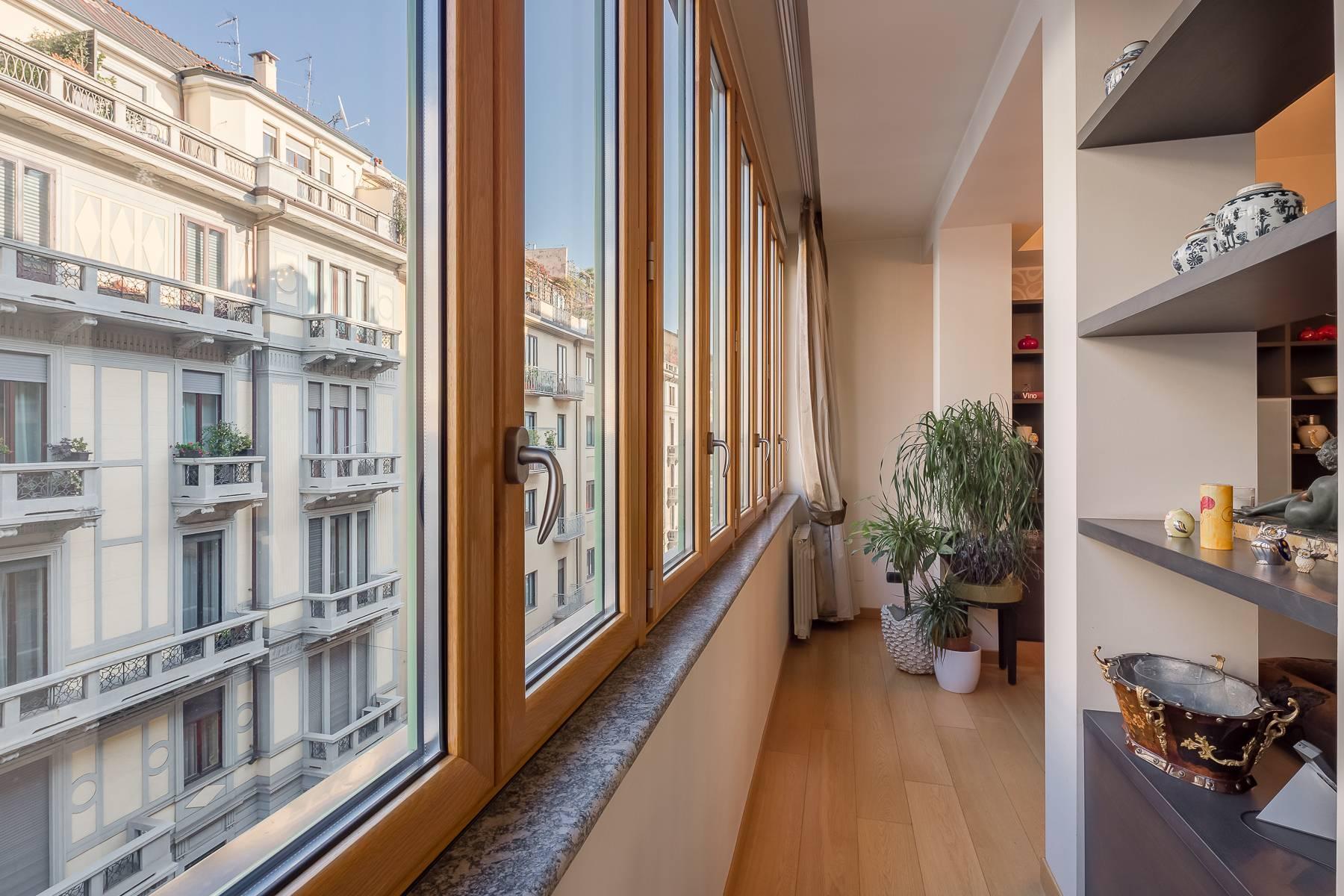 Квартира в классическом стиле на via Besana - 12