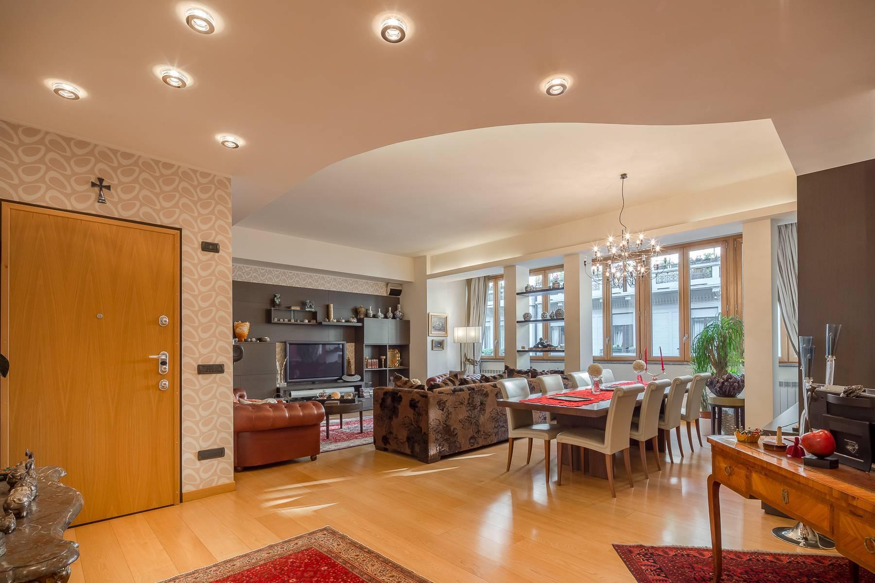 Квартира в классическом стиле на via Besana - 14