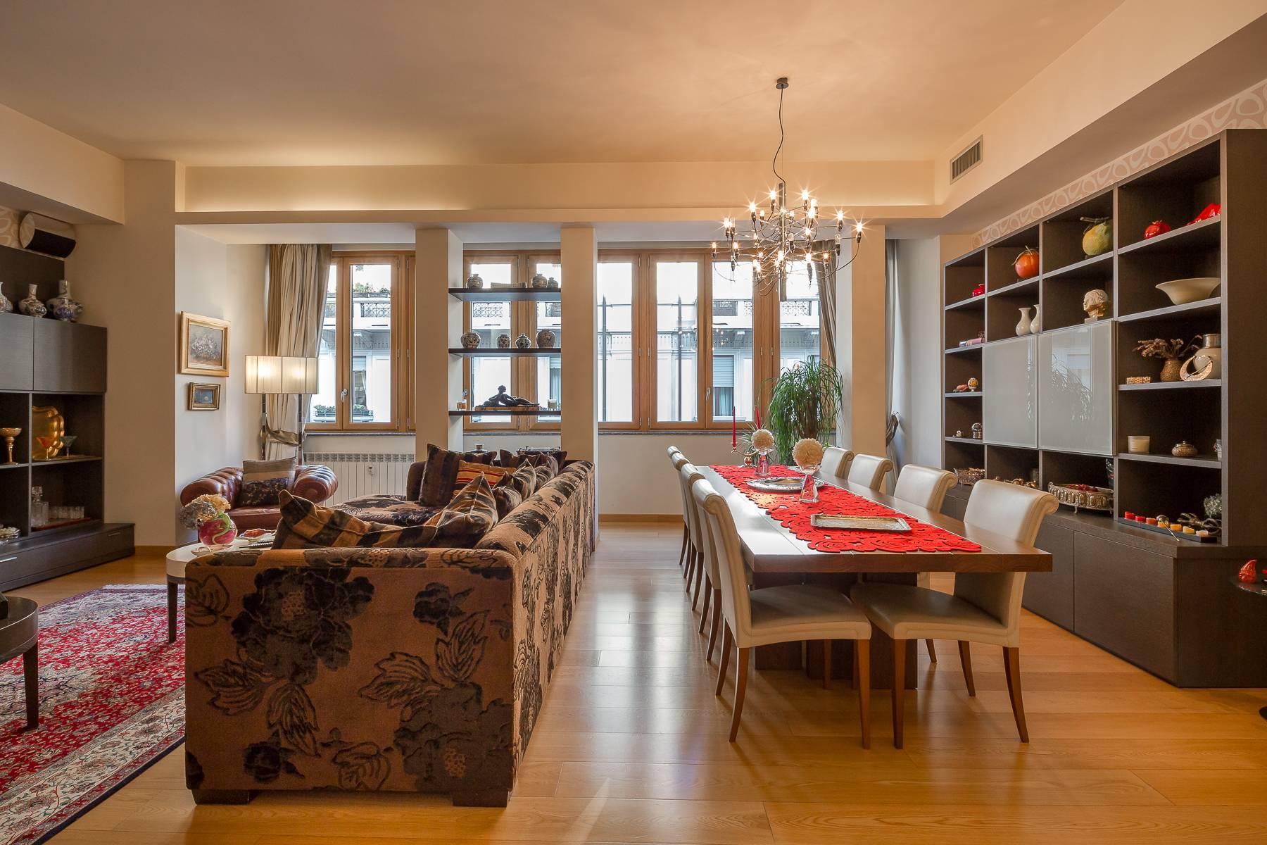 Квартира в классическом стиле на via Besana - 16