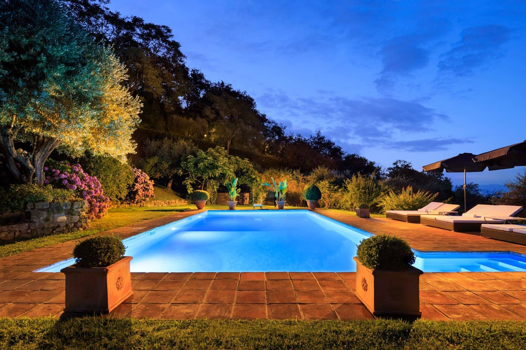Luxury country villa with pool and olive grove in private panoramic position - 5