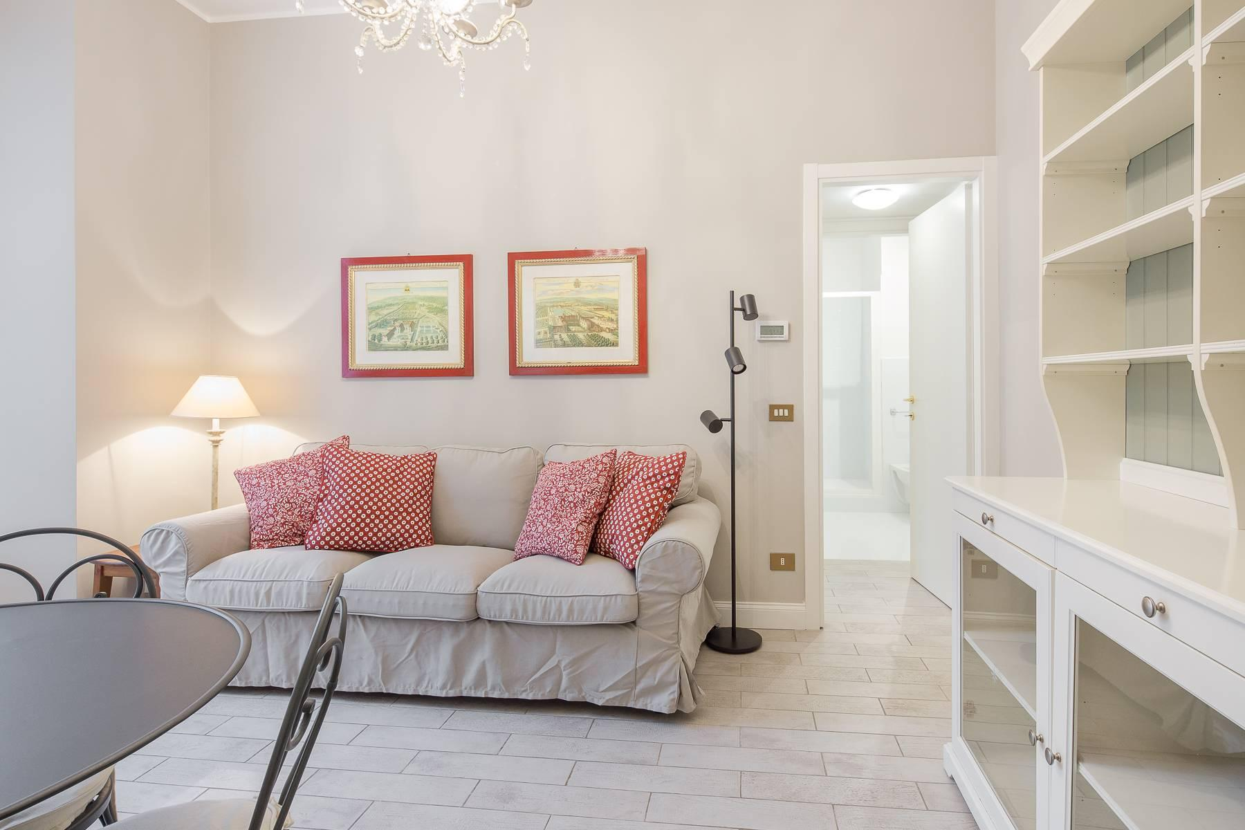Bilocale di charme arredato in affitto in Brera - 14