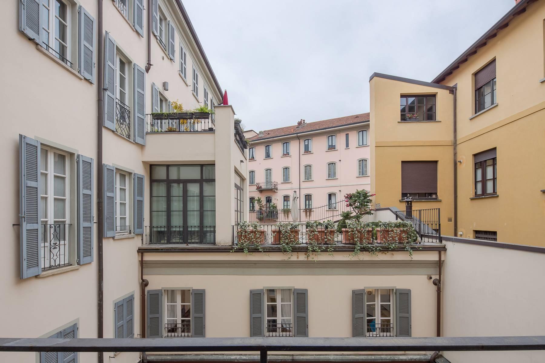 Bilocale di charme arredato in affitto in Brera - 19