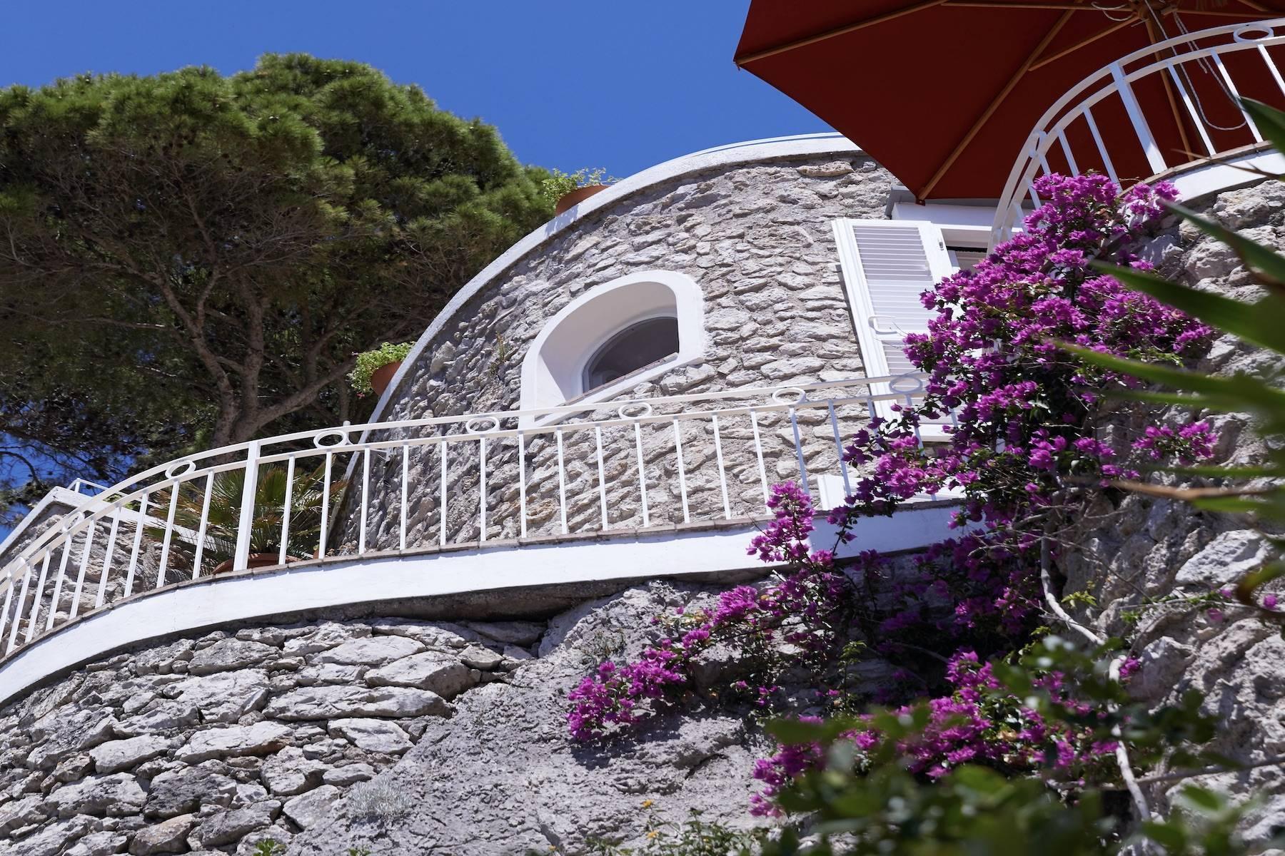 Villa Pieds dans l'eau in Capri - 15