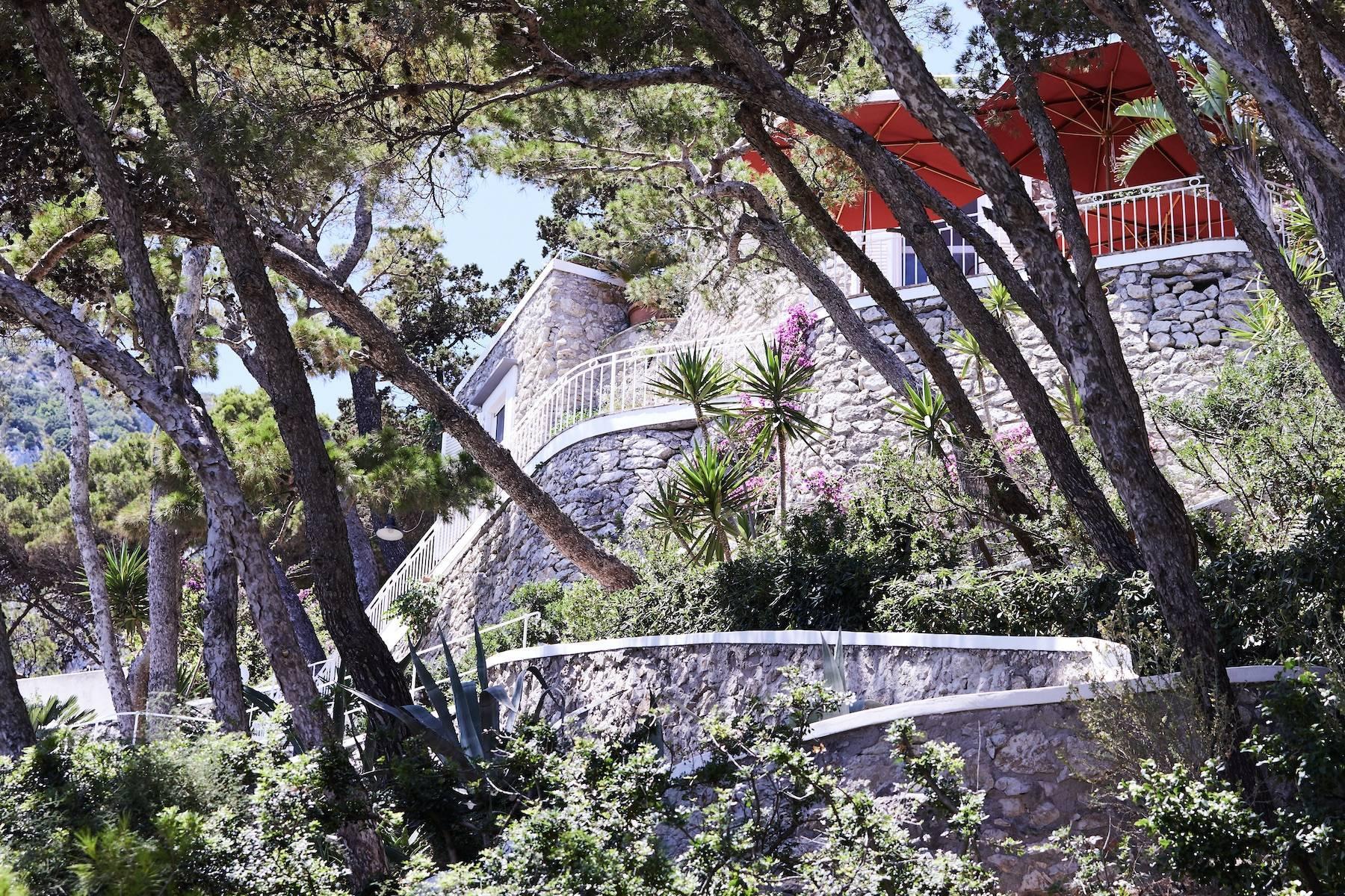 Villa Pieds dans l'eau in Capri - 16