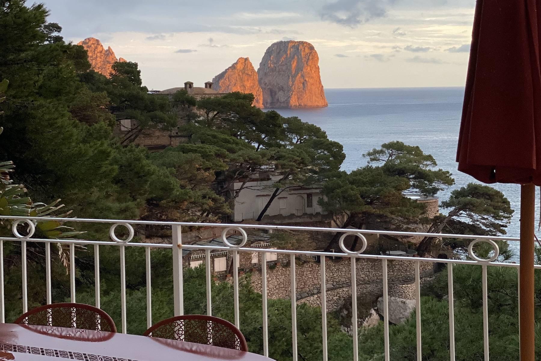 Villa Pieds dans l'eau in Capri - 20