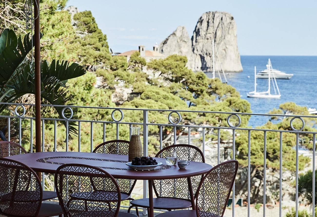 Villa Pieds dans l'eau in Capri - 5
