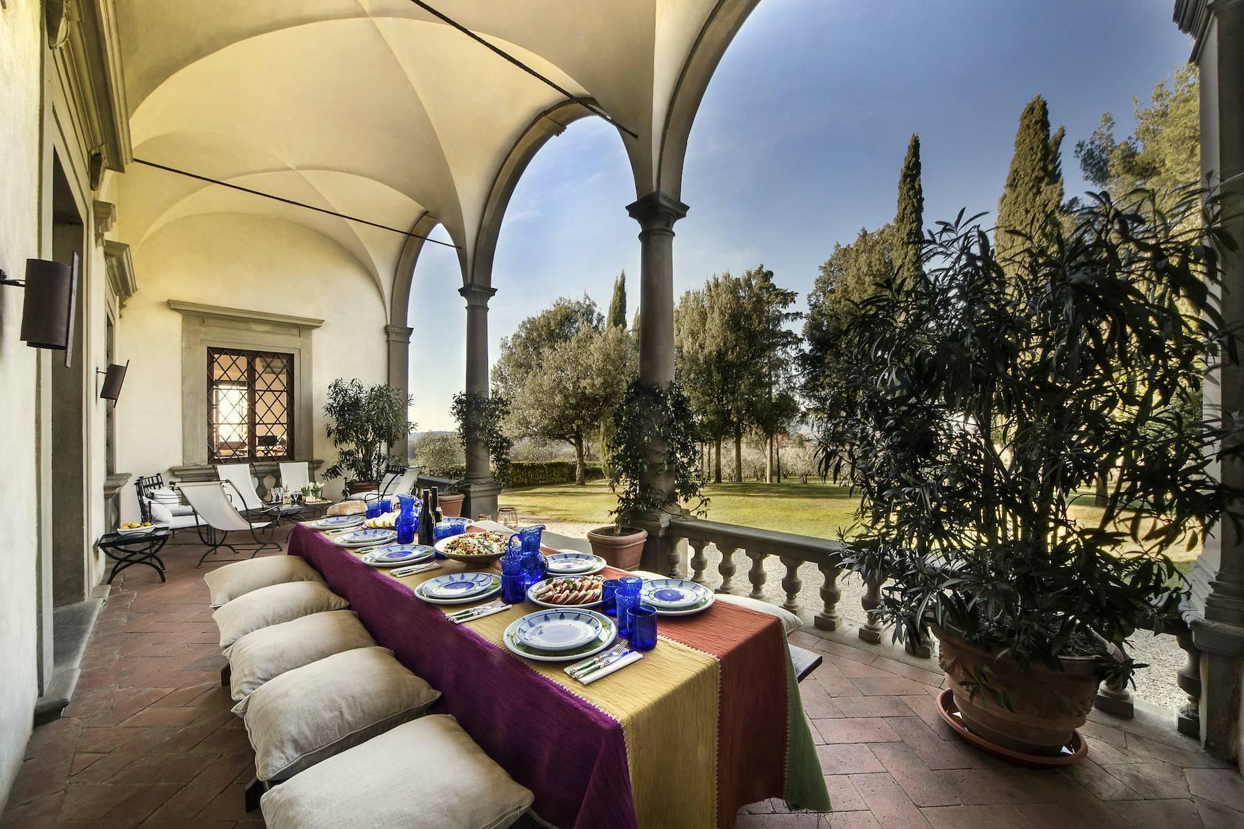 Impareggiabile villa Michelangiolesca nel Chianti Classico - 1