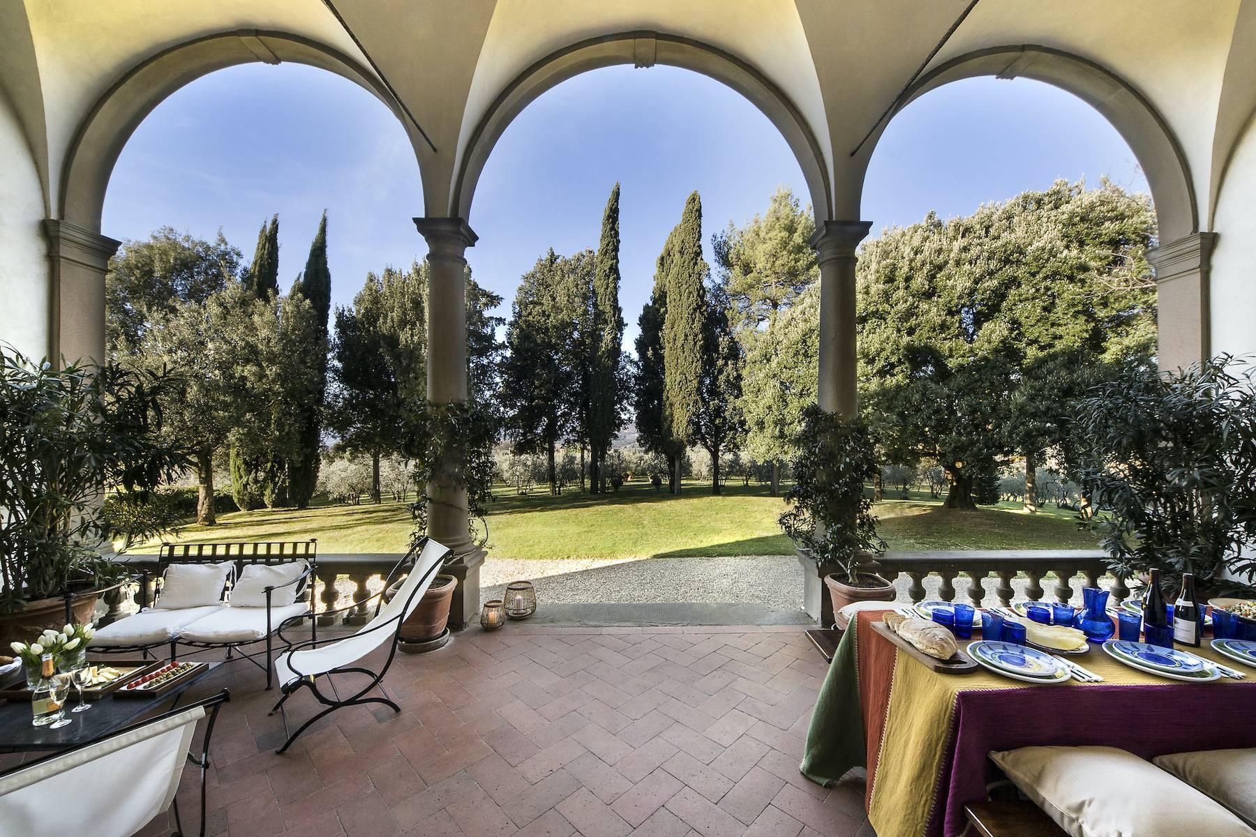 Impareggiabile villa Michelangiolesca nel Chianti Classico - 3