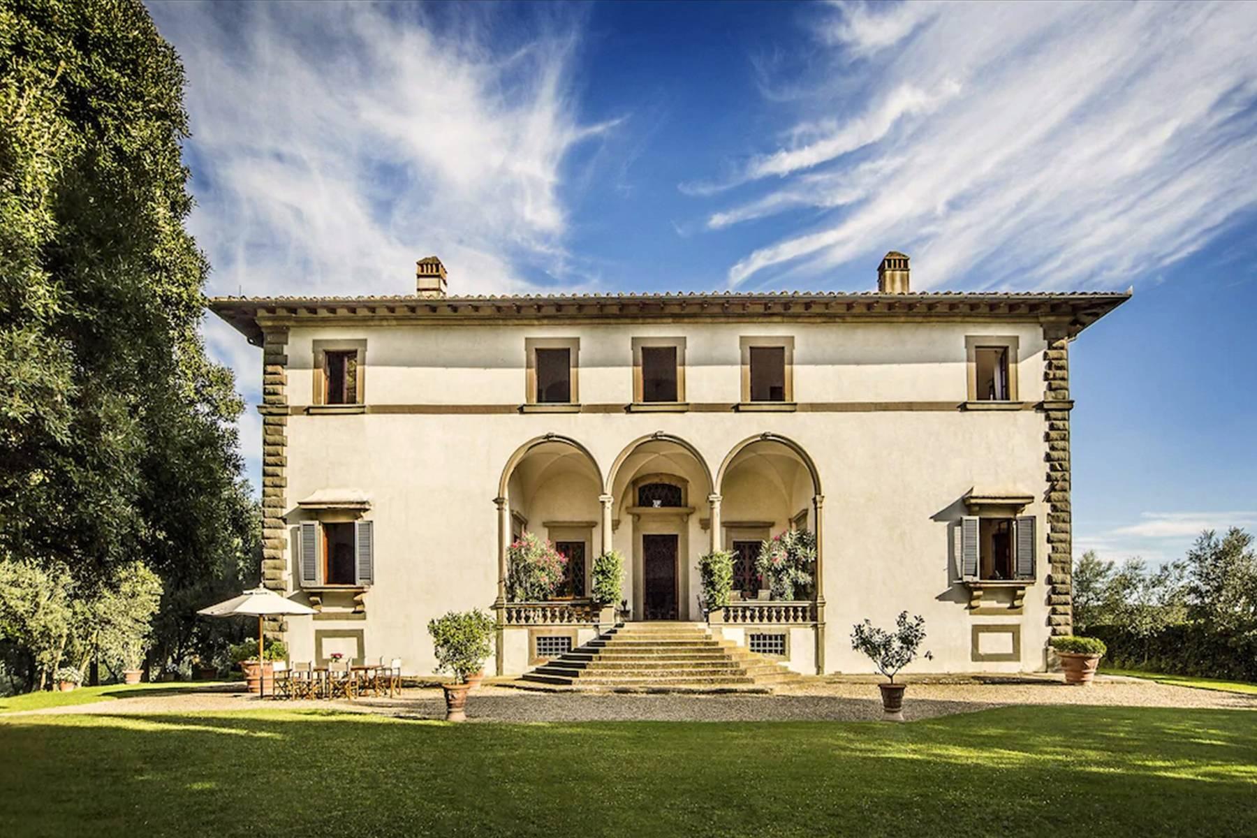 Impareggiabile villa Michelangiolesca nel Chianti Classico - 5