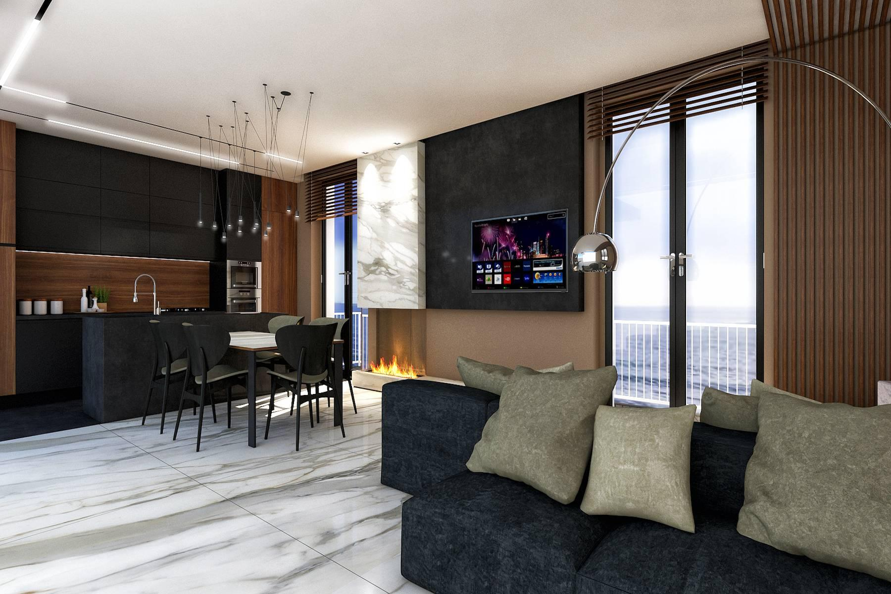 Шикарные апартаменты у моря в Виареджио - 1