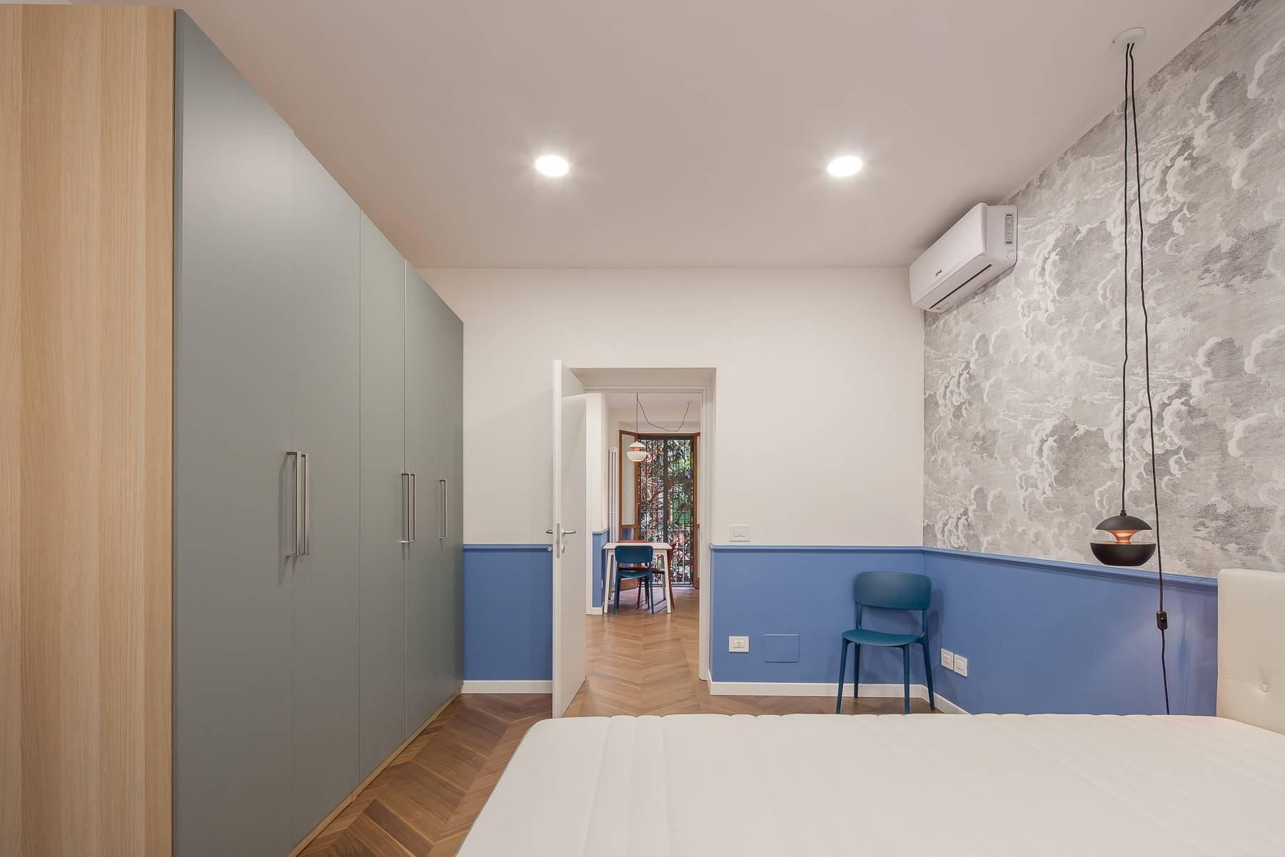 Elegante renovierte Zwei-Zimmer-Wohnung in Brera - 11