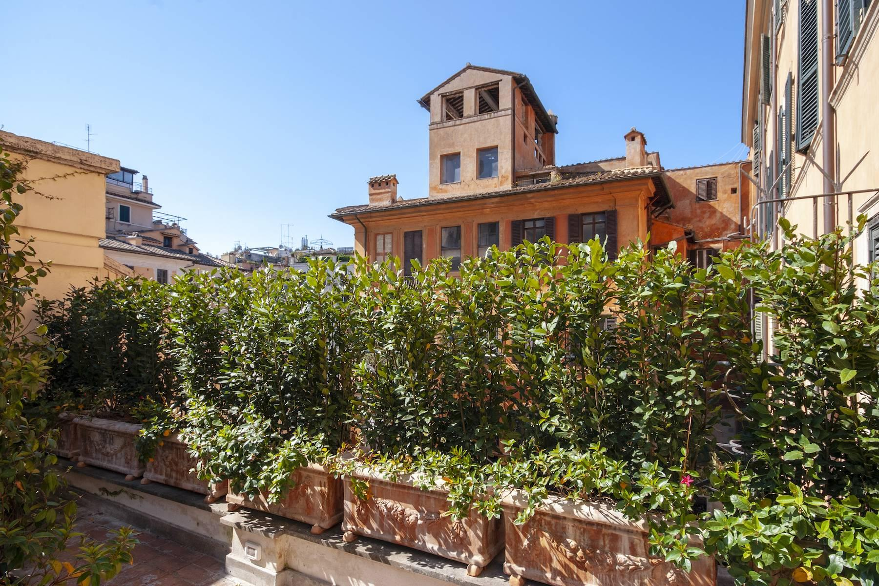 Шикарная резиденция с видом на Trinità dei Monti - 20