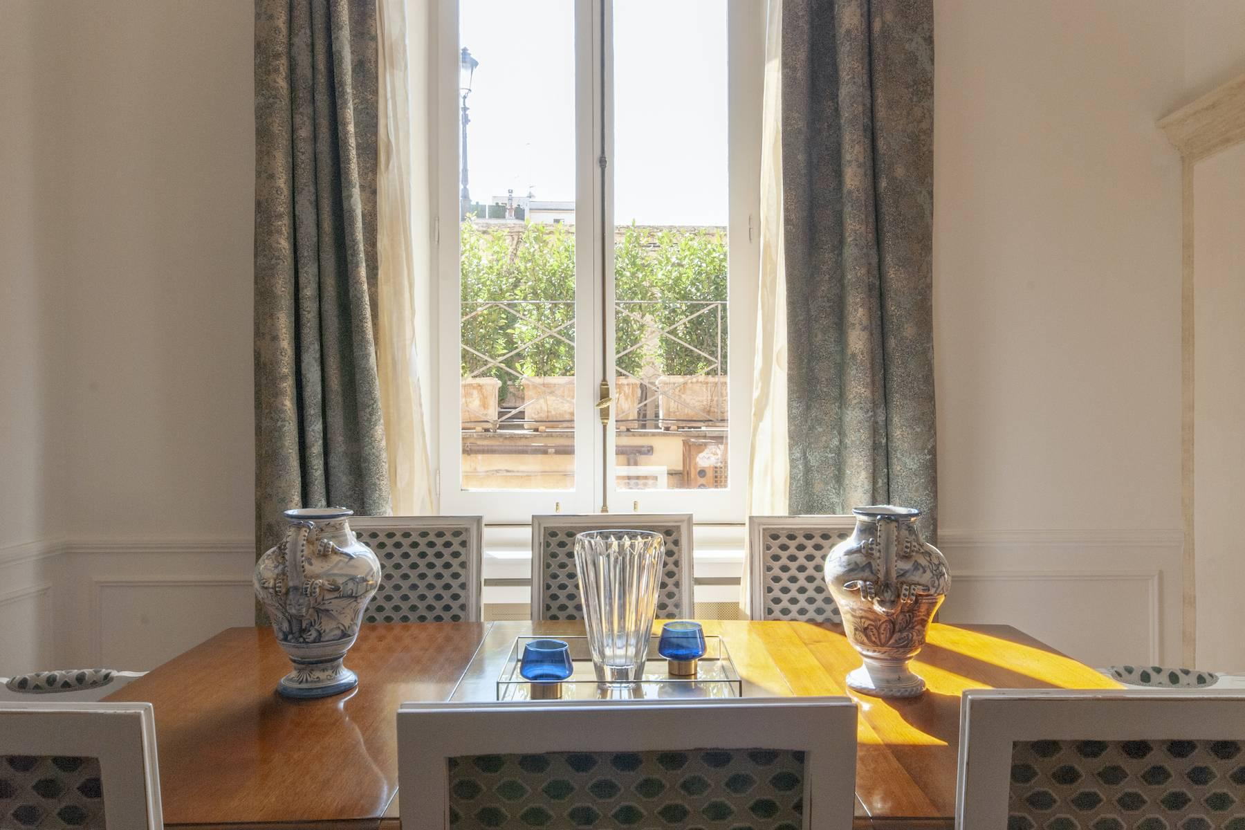 Wunderschöne Wohnung mit Blick auf Trinità dei Monti - 13