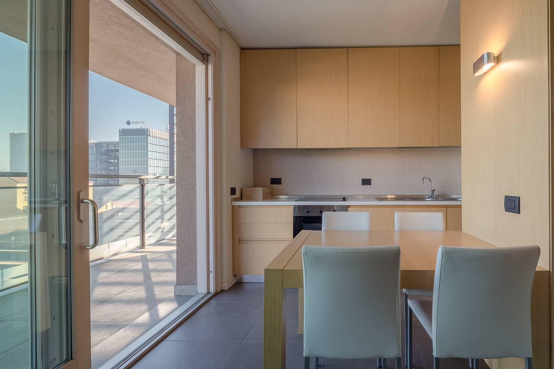 New two-room apartment with terrace in Giax Tower - 3