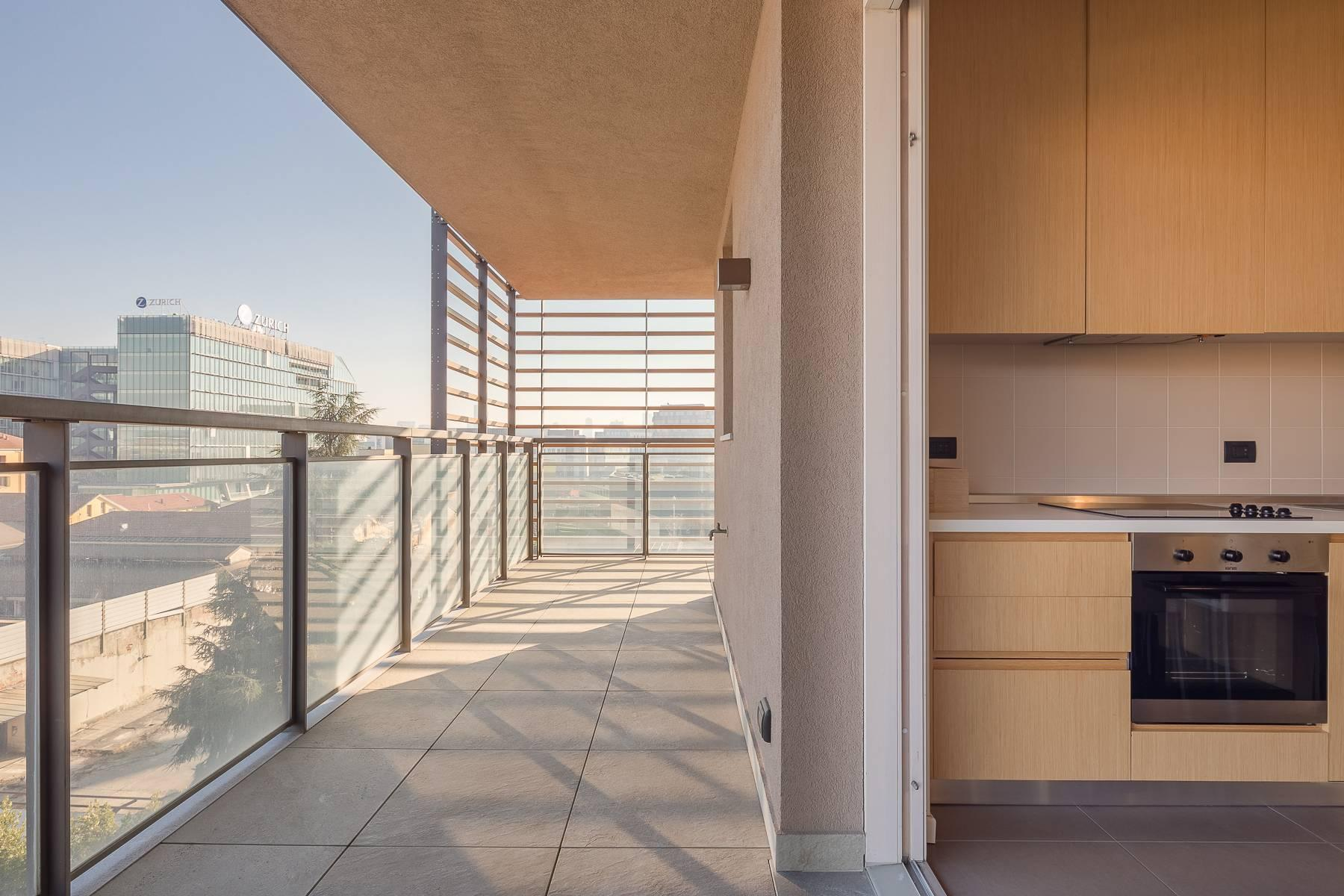 New two-room apartment with terrace in Giax Tower - 20
