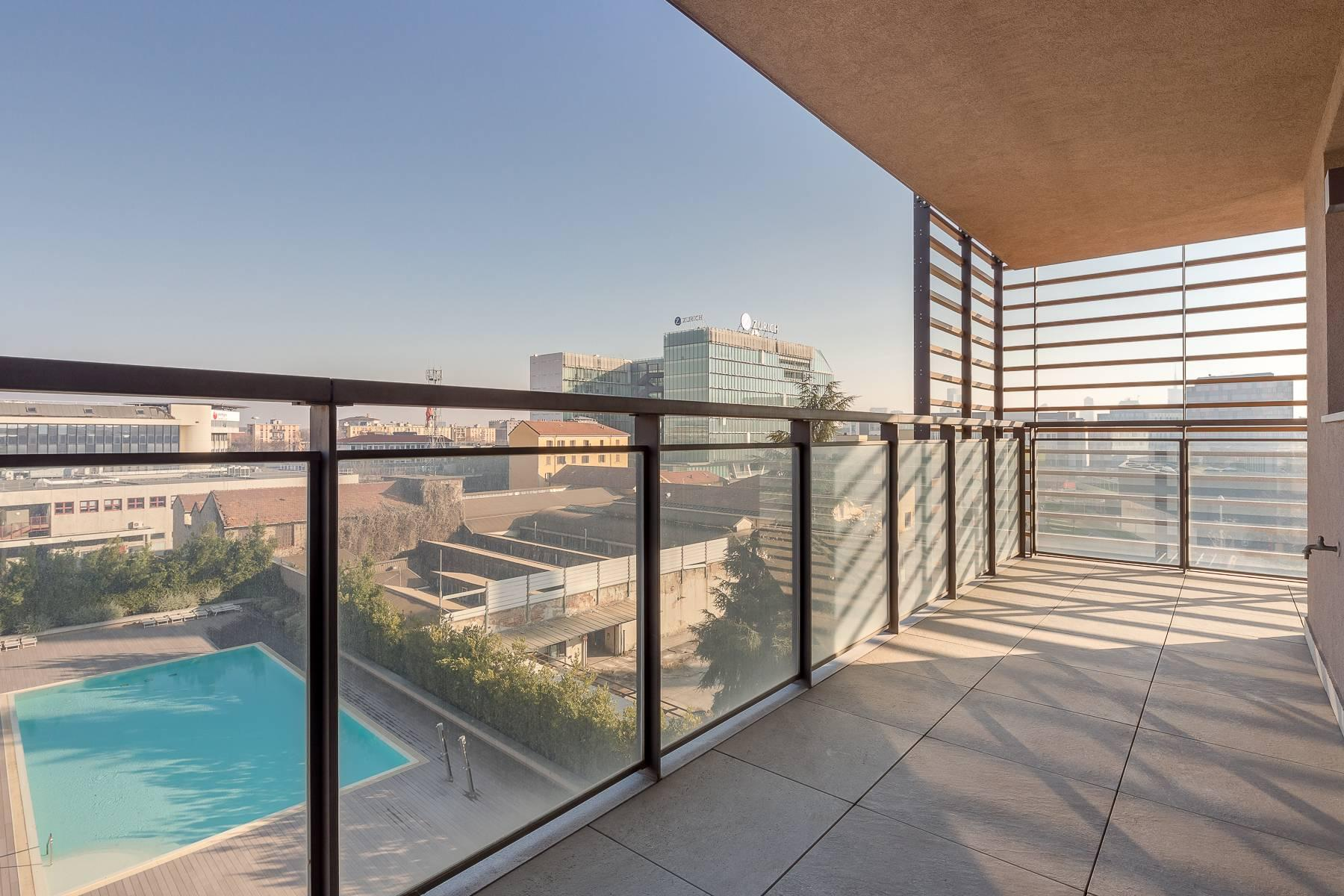 New two-room apartment with terrace in Giax Tower - 6